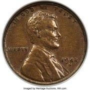 1943 Bronze Lincoln
