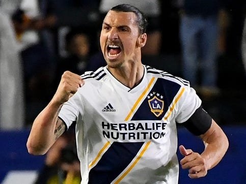 LA Galaxy's Zlatan Ibrahimovic says he's better — 'by far' — than LAFC's Carlos Vela