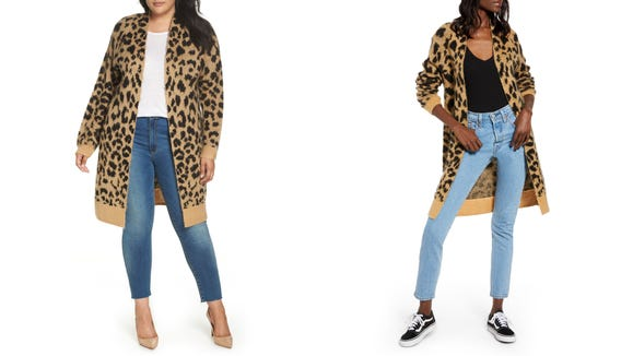 Leopard print will never go out of style. There, I said it.