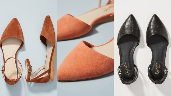 Get the perfect flats to pair with your work pants.
