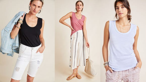 This tank is perfect for layering or just lounging around.