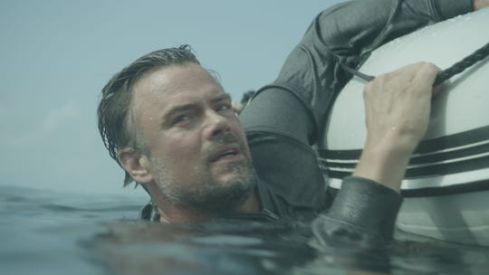 "Josh Duhamel stars in ""Capsized: Blood in the Water,"" Discovery's first original movie for Shark Week."