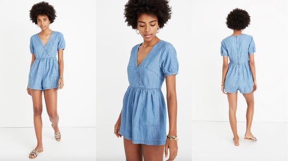 Flirty and seriously fun, I'm all about this romper this summer.