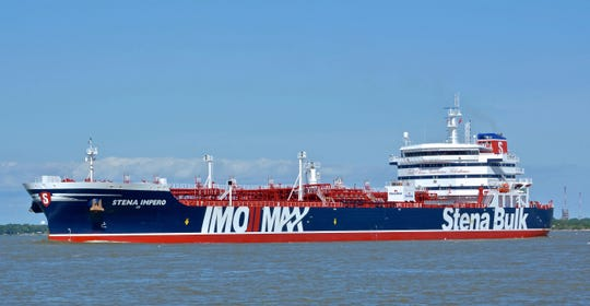The oil tanker was arrested from the British Stena Impero Friday at Revolutionary Iran in the Strait of Hormuz. The most recent impetus in a strategic waterway has been the seizure of the ship which has become a flash point in the tension between Tehran and the West.
