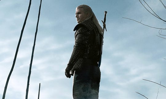 "Henry Cavill stars as the solitary monster hunter Geralt of Rivia in ""The Witcher."""