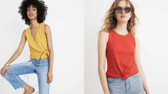Refresh your summer wardrobe with some of these breezy tanks.