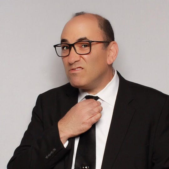 Dan Rosenberg does stand-up July 27 at Bainbridge Performing Arts.