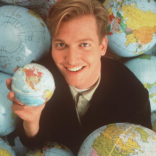 "Craig Kilborn of ""The Daily Show,"" 1996."