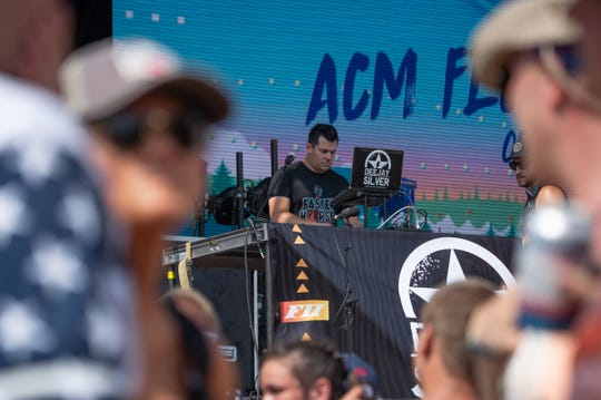 Deejay Silver performs during the Faster Horses festival on Friday, July 19, 2019 at Michigan International Speedway in Brooklyn.