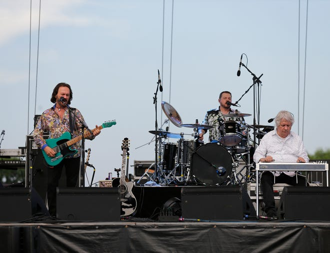 Members of the band Pure Prairie League perform Friday, July 19, 2019 at the Fond du Lac County Fair at the fairgrounds in Fond du Lac, Wis. Doug Raflik/USA TODAY NETWORK-Wisconsin
