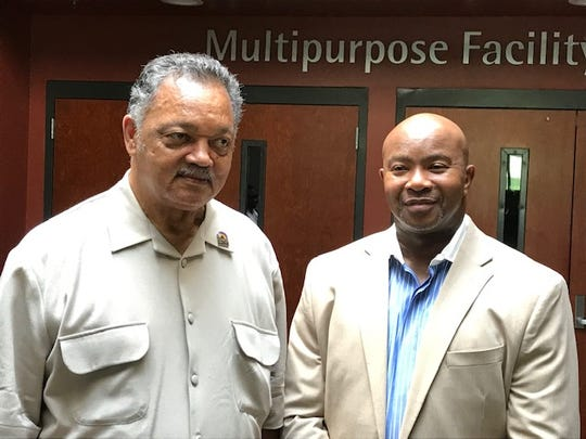 The Rev. Jesse Jackson and the Rev. Phillip Baldwin