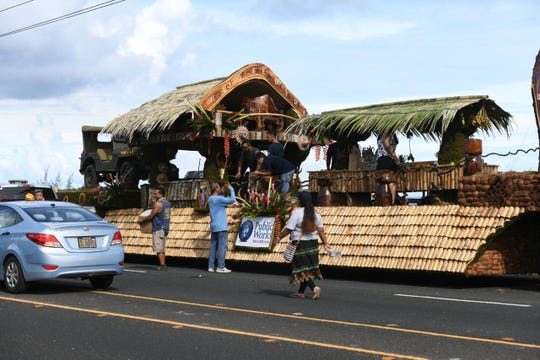 Department of Public Works float
