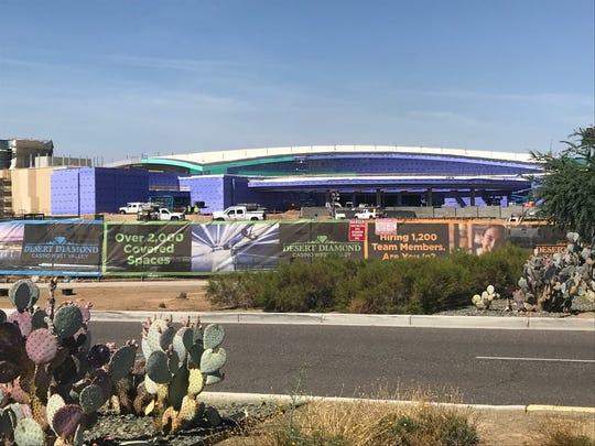 La construcción del nuevo casino progresa a pasos agigantados en el oeste del Valle.