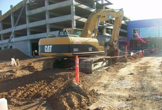La etapa de construcción ha dado cientos de empleos.