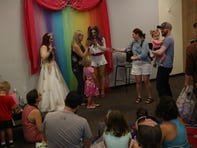 Crowds rally for Drag Queen Story Hour: 'It just shows how far we've come'