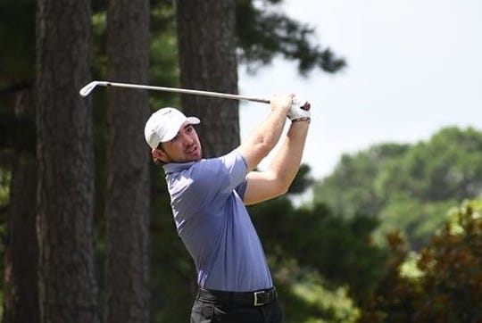 Shrreveport's Philip Barbaree Jr. plays during the final round of the Southern Amateur at Chenal Country Club in Little Rock, Arkansas, on Saturday. PBJ finished third in the field of 159.