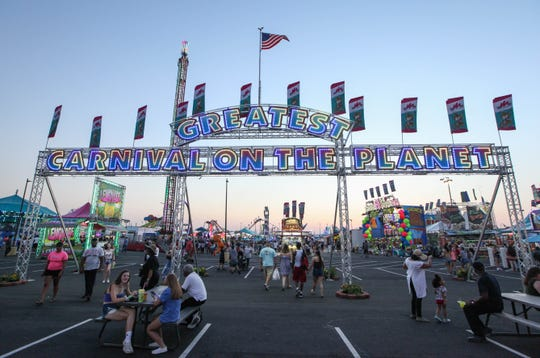 Scenes from the Delaware State Fair's 100th year in operation on Friday July 19, 2019.