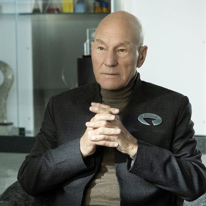 "Patrick Stewart returns as Jean-Luc Picard in ""Star Trek: Picard."""