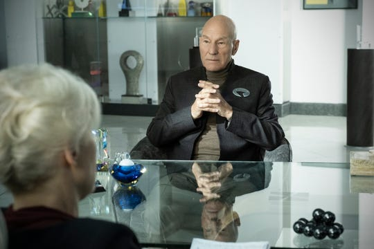 "Patrick Stewart returns as Jean-Luc Picard in ""Star Trek: Picard."""
