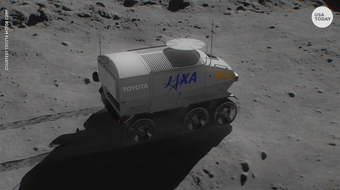 Toyota announced a three-year agreement with Japan's space agency JAXA to develop a moon rover.