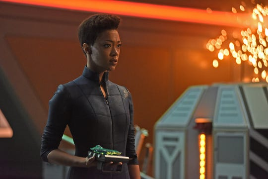 "Sonequa Martin-Green returns as Michael Burnham for a third season of ""Star Trek: Discovery."""