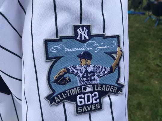 A look at Christopher Pickel's jersey.