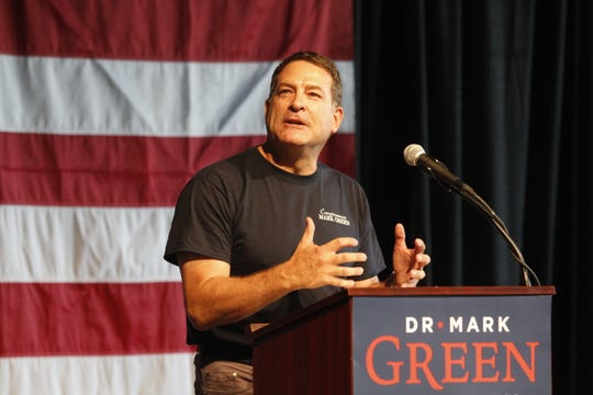 Rep. Mark Green at the 2nd Annual Red, White & Blues event at Old Glory Distilling Co., on Saturday, July 20, 2019.