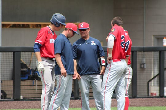 Attorney Steve Farsiou, center, manages the Whitehouse Post 284 American Legion baseball team