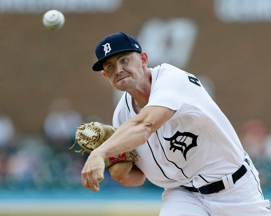 1157127587.jpg DETROIT, MI - JULY 21:  Tyler Alexander #70 of the Detroit Tigers pitches against the Toronto Blue Jays during the second inning at Comerica Park on July 21, 2019 in Detroit, Michigan. (Photo by Duane Burleson/Getty Images)