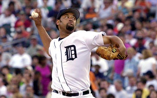 Tigers pitcher Jose Lima