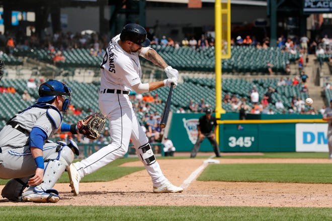 Nick Castellanos connects on his first walk-off solo home run in the 10th inning, lifting the Tigers to a 4-3 win and their victory win at Comerica Park since June 29.