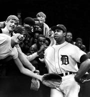 Despite the Tigers' poor finish, Willie Horton hit 25 home runs with 92 RBIs in 1975.