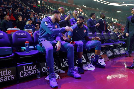 Blake Griffin and Andre Drummond are cornerstones of the Pistons franchise.