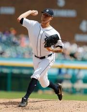 Shane Greene went to the Atlanta Braves in exchange for left-hander  Joey Wentz and outfielder Travis Demeritte.