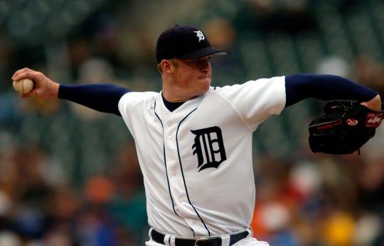 Tigers starting pitcher Jeremy Bonderman