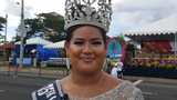Liberation Queen Regina Duenas discusses the importance of Liberation Day after the island's annual parade in Hagåtña, July 21, 2019.