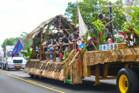 A scene from the 75th Liberation Parade in Hagåtña in this July 21, 2019, file photo. The governor's office is now preparing for the 76th Liberationand welcomes input from mayors and others about what this year's theme should be.
