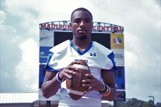 Madison Central quarterback Jimmy Holiday passed for 1,518 yards and 16 touchdowns in his junior season.