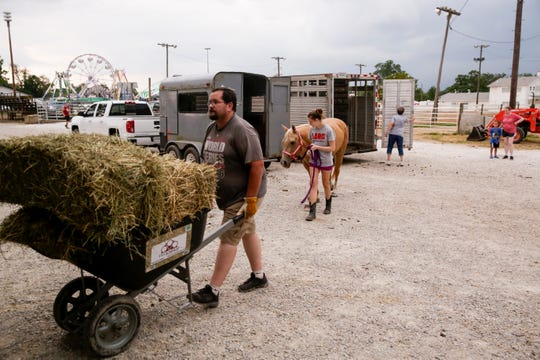 Scenes from the second day of the 2019 Tippecanoe County Fair, Sunday, July 21, 2019 in Lafayette. The fair continues until Saturday, July 27.