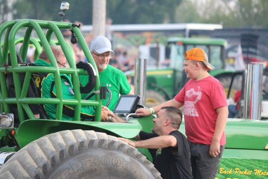 "OSTPA, the Ohio State Tractor Pullers Association, made a local stop on their championship circuit, the largest tractor pulling circuit in the world, to bring some of the most thrilling ""ground-pounding action"" to Ottawa County."
