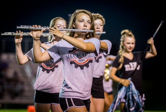 Richmond competes in the Spirit of Sound band competition at Central Saturday, July 20, 2019.