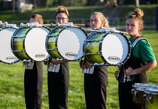 Northeastern competes in the Spirit of Sound band competition at Central Saturday, July 20, 2019.