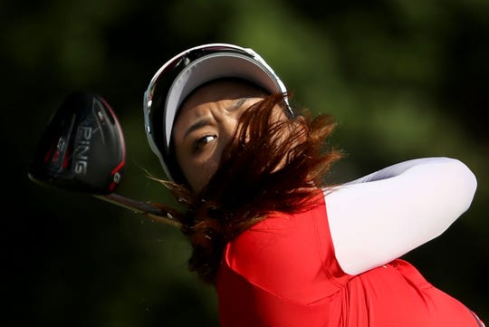Patty Tavatanakit of Thailand hits a tee shot ahead of the 2019 U.S. Women's Open Championship at the Country Club of Charleston on May 29, 2019 in Charleston, South Carolina. Tavatanakit won the Danielle Downey Classic at Brook-Lea Country Club on Sunday.