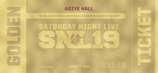FSU's golden ticket for it's Saturday Night Live recruiting event