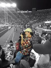 FSU fan Chris Holder has been photographing football games at FSU since 1985.