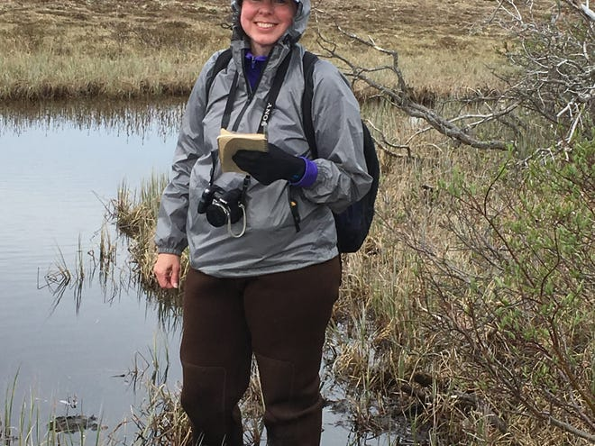 """From June 25 to July 5, Katrina Roddenberry joined eight other Earthwatch educator volunteers and a team of scientists for the """"Climate Change at the Arctic's Edge"""" project."""