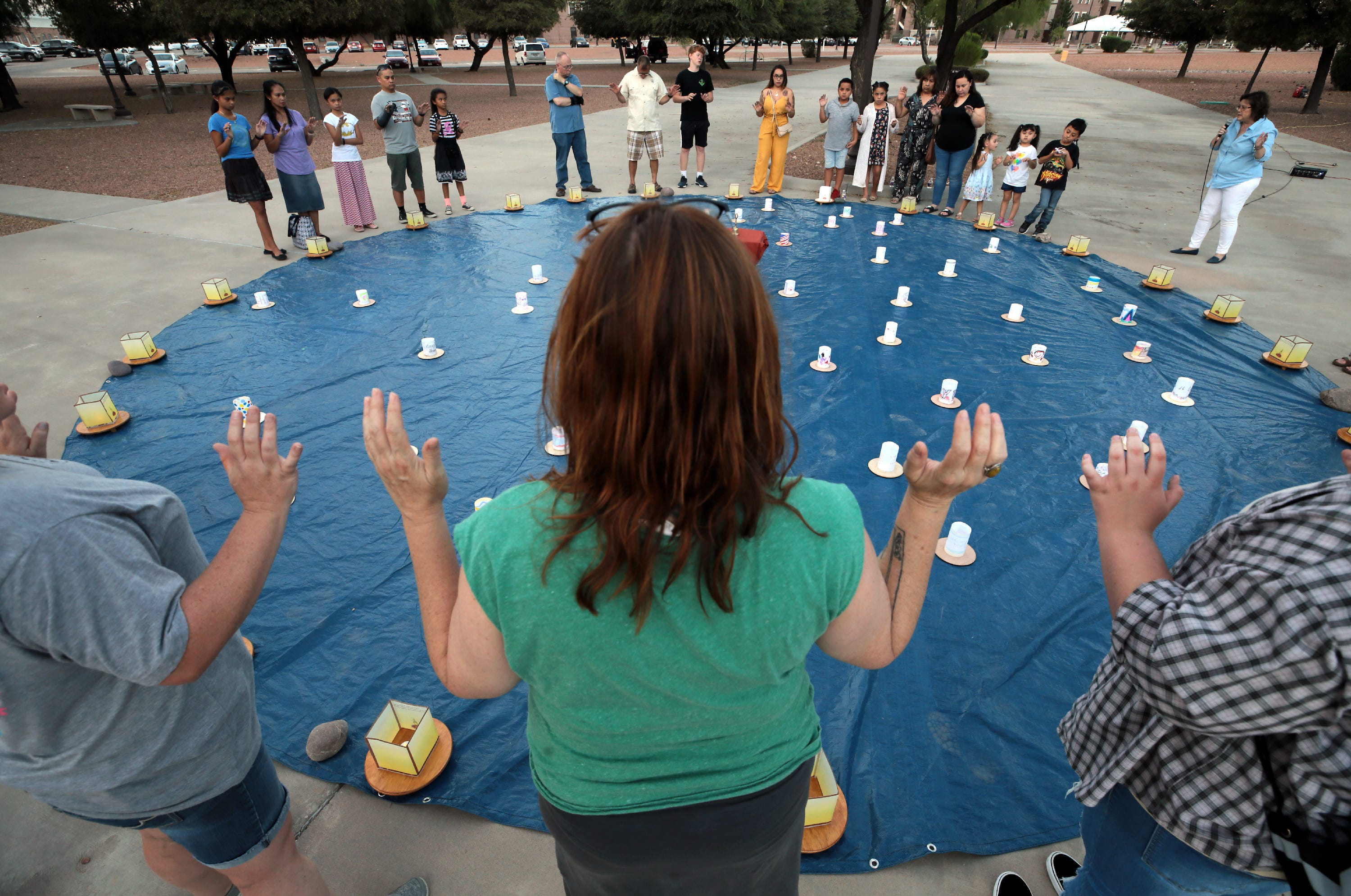 Fort Bliss Families Heal at Lantern Festival