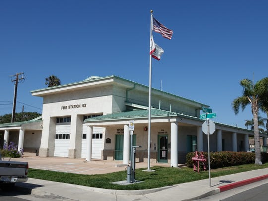 Ventura County Fire Department's Station 53 sits at the corner of Pearl and Second streets in Port Hueneme.