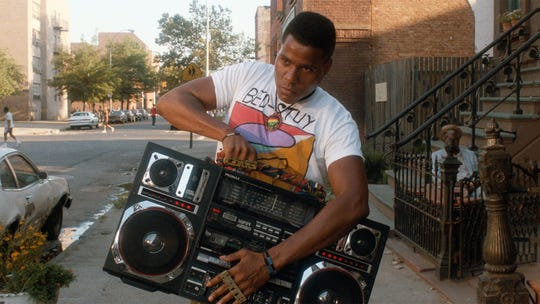 Radio Raheem's (Bill Nunn) famous boombox gets smashed to pieces in the 1989 film's climactic fight.