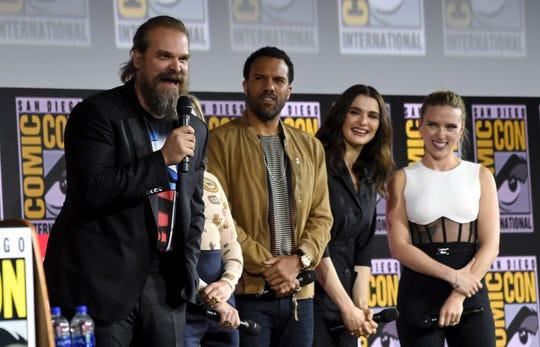 Black Widow' at Comic-Con: Scarlett Johansson goes solo for